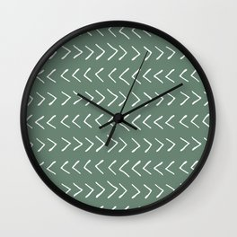 Arrows on Laurel Wall Clock