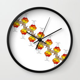Cloudberry Wall Clock