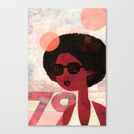 AFRO 79 Canvas Print
