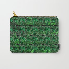 Stars V1 GREEN Carry-All Pouch
