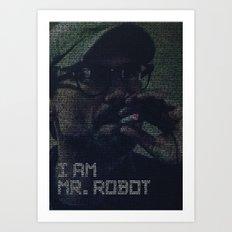 mr.robot_eps1.8_m1rr0r1ng.qt Art Print