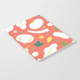 Veggie Collage Notebook