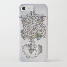 Floral Anatomy Skeleton iPhone 7 Slim Case