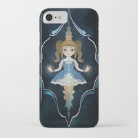 starry night iPhone & iPod Cases featuring Starry by NuriaDrella