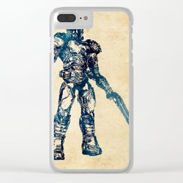 Doom Marine Clear iPhone Case
