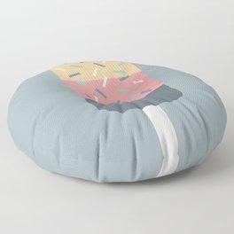 Popsicle (Blue) Floor Pillow