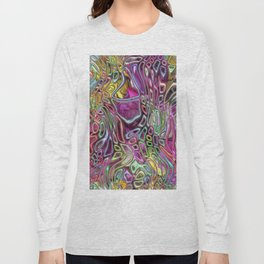 Flowers and candy abstract Long Sleeve T-shirt