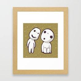 Kodamas Framed Art Print