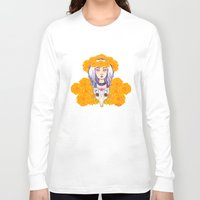day of the dead Long Sleeve T-shirts featuring Day of the Dead by Andrea Estrada