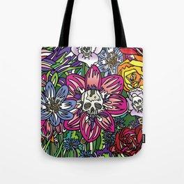 """""""Skull Garden III"""" by Schmiedlin 2013 Tote Bag"""