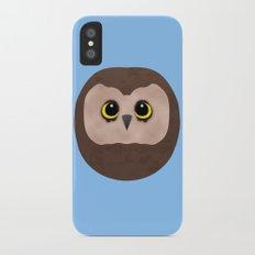 Chubby Little Owl Slim Case iPhone X