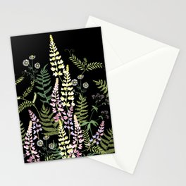 Forest flowers. Stationery Cards