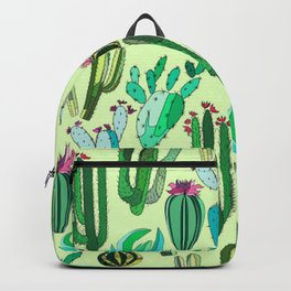 ALL OVER CACTUS FLORAL CLUSTER PATTERN Backpack