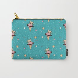 Space Cat on Ice Cream Planet Carry-All Pouch