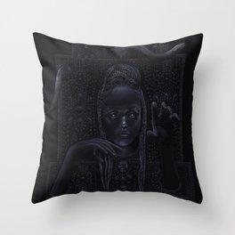 DARK TEMPLE - Du noir naît la lumière Throw Pillow