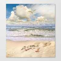 paradise Canvas Prints featuring Paradise by RasaOm
