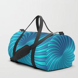 Blue Spiral Vortex G213 Duffle Bag