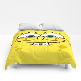 Spongebob Naughty Face Comforters