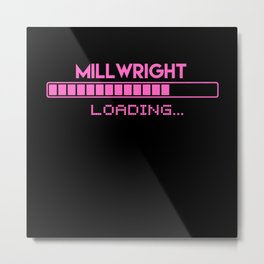 Millwright Loading Metal Print
