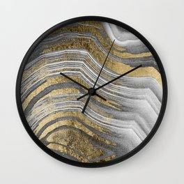 Abstract paint modern Wall Clock