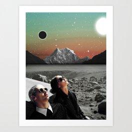 Black Horizon Art Print