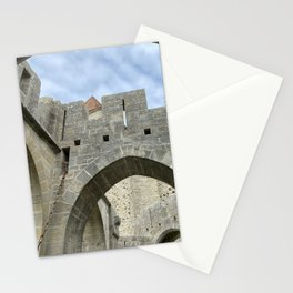 arches and arcades of the City of Carcassonne Stationery Cards