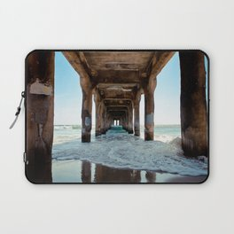 Manhattan Beach Pier Laptop Sleeve