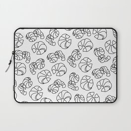 Croissants in Space Laptop Sleeve