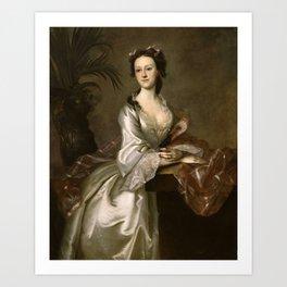 Joseph B. Blackburn - Portrait of Mrs. John Pigott Art Print