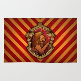 Hogwarts House Crest - Gryffindor Rug