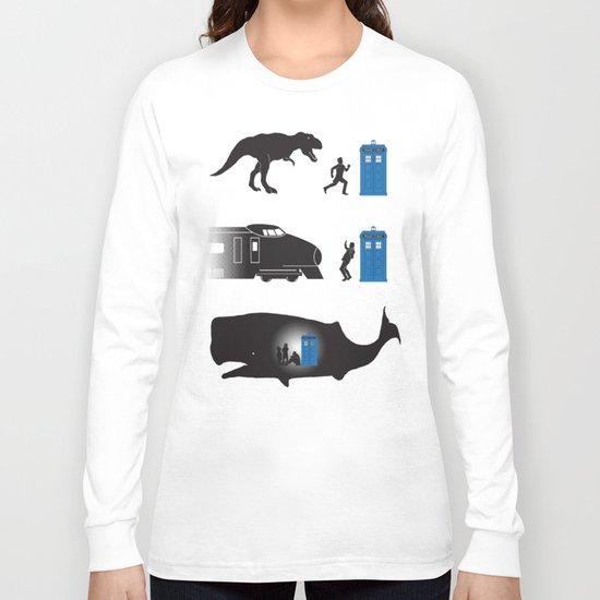 Time Travel is Dangerous Long Sleeve T-shirt