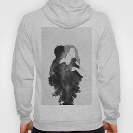 You are my peaceful heaven b&w. Hoody