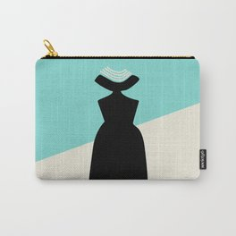 Fashion Designer Icons: Givenchy in Breakfast at Tiffany's Carry-All Pouch