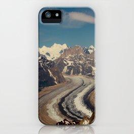 ALASKA I: Ruth Glacier beneath Denali ~ The Great One ~ Mt. McKinley iPhone Case