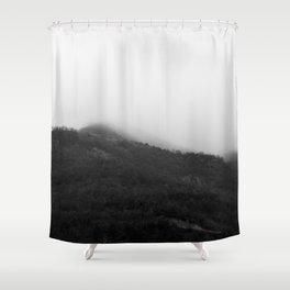 Foggy Mountains Shower Curtain