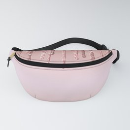 Beautiful Frosting Pattern Design Fanny Pack