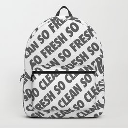 #TBT - SOFRESHSOCLEAN Backpack