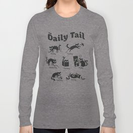 The Daily Tail Cat Long Sleeve T-shirt