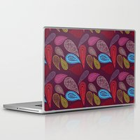 paisley Laptop & iPad Skins featuring paisley  by Showpony