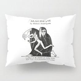 Macbeth William Shakespeare Book Cover Pillow Sham