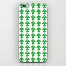 mushroom green iPhone & iPod Skin