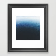 Ombre Waters Framed Art Print