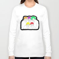1d Long Sleeve T-shirts featuring 1D punked by Rebecca Bear