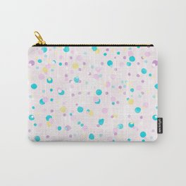 * Pastel Dots * Carry-All Pouch