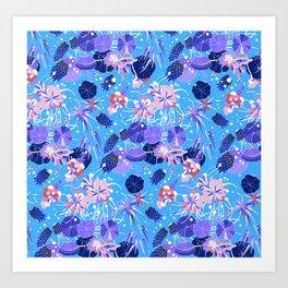 In Bloom Flower Print Art Print