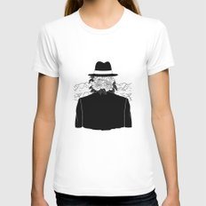 Beautiful Stranger LARGE White Womens Fitted Tee