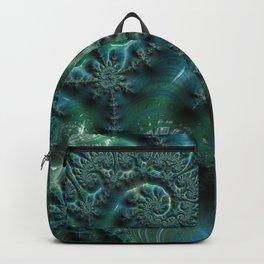 Emerald Elegance Backpack