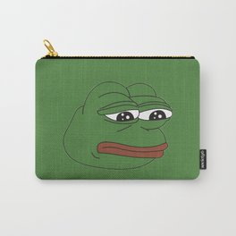 Super Rare Pepe The Frog!  Carry-All Pouch