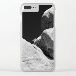 Big Rock 7447 Joshua Tree Clear iPhone Case