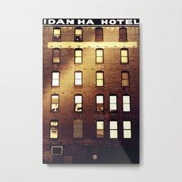 Idanha Hotel Metal Print
